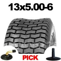 13x5.00-6 TYRE & TUBE SET FOR RIDE ON MOWERS 13 5.00 - 6